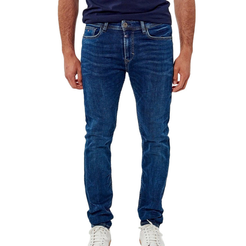 Jeans Slim Bleu foncé Homme Kaporal Daxko