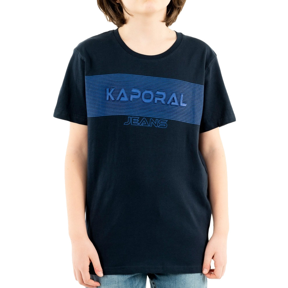 T-shirt Marine foncé Garçon KAporal Miro