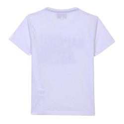 T-shirt Blanc Garçon Kaporal Mayo pas cher