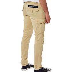 Pantalon Beige Homme Kaporal Kalie pas cher