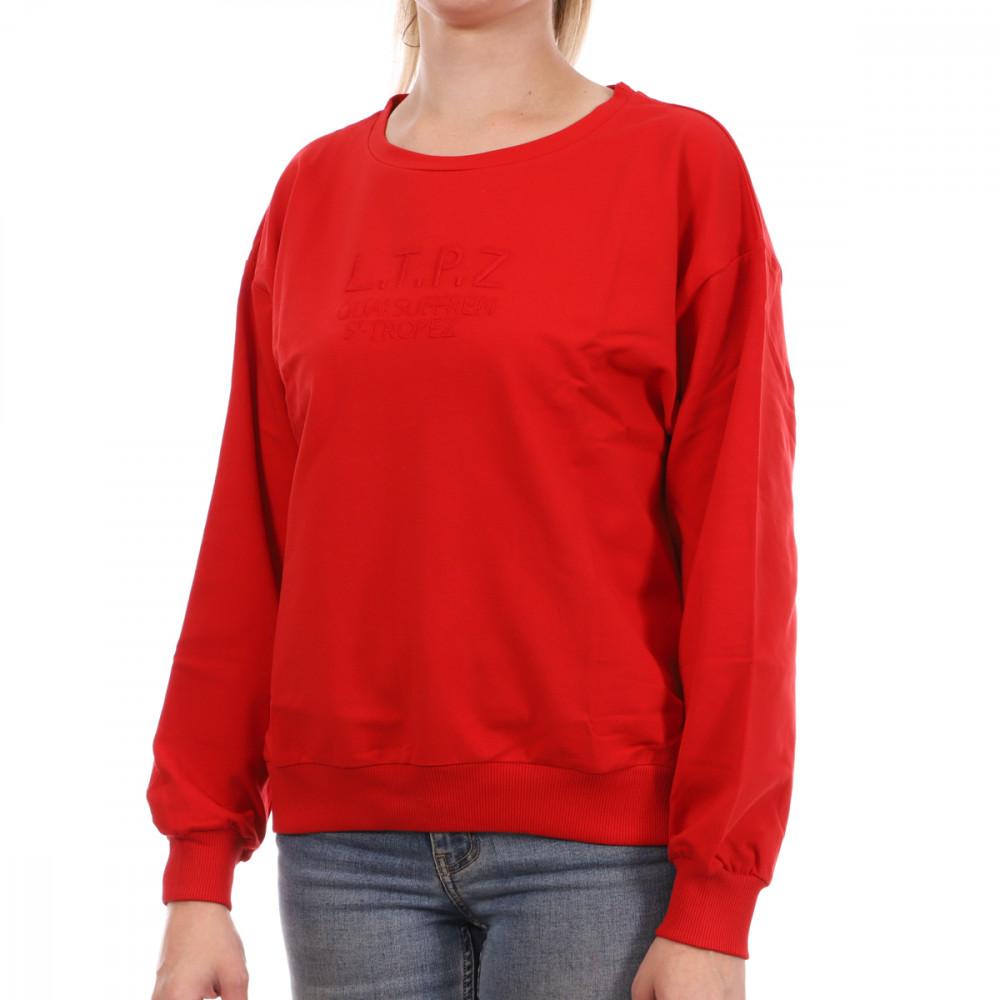 Sweat Rouge femme Les Tropéziennes Sarazine