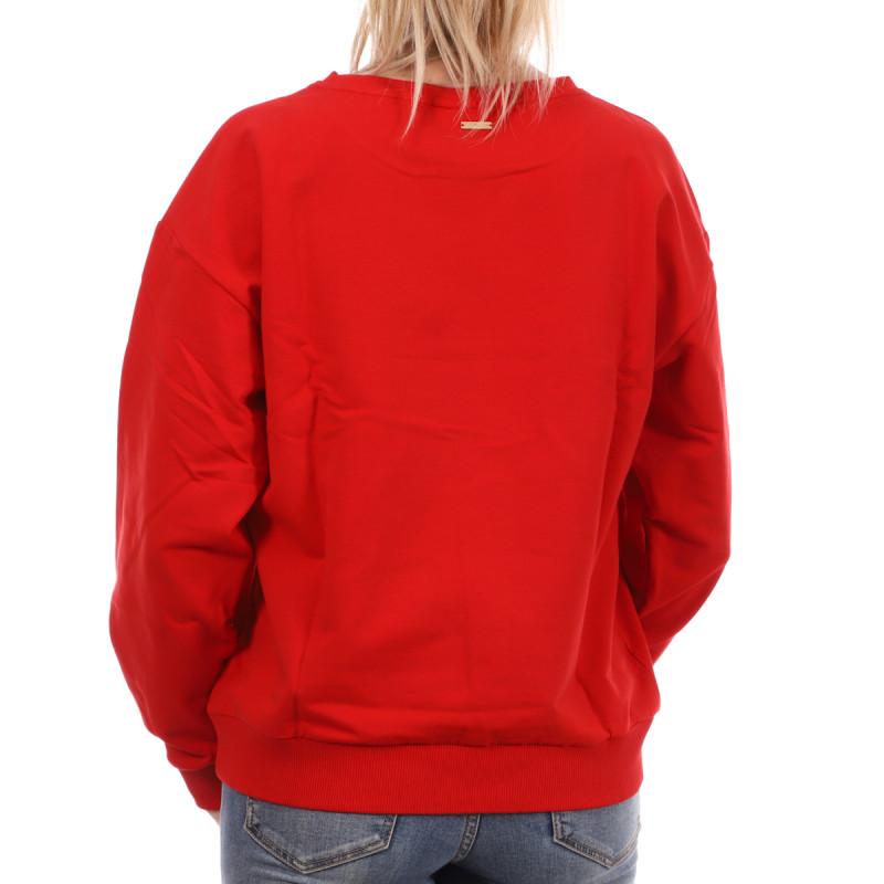 Sweat Rouge femme Les Tropéziennes Sarazine pas cher