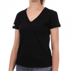 T-shirt Noir Femme Les Tropéziennes Onagre
