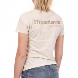 T-shirt beige femme Les Tropéziennes Onagre pas cher