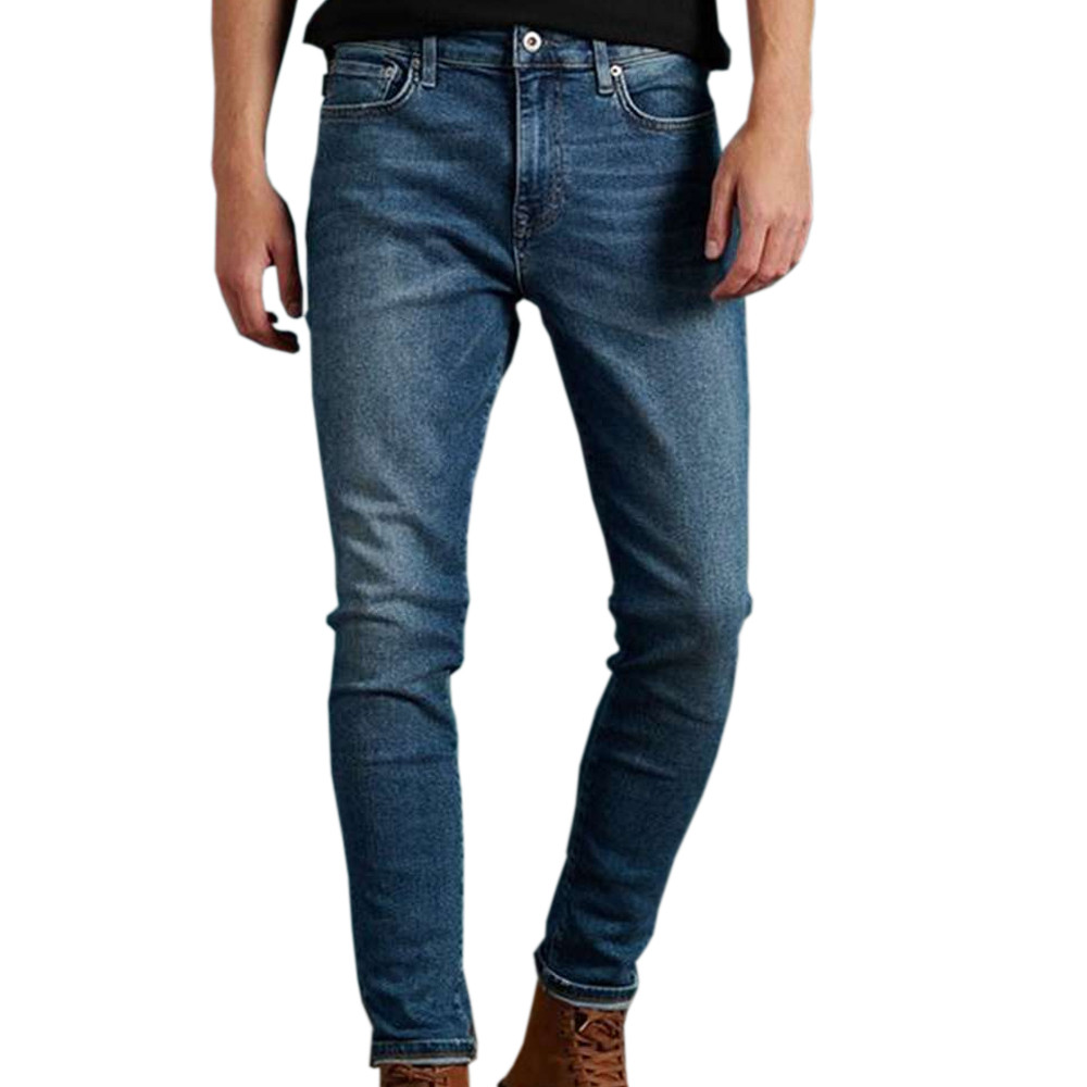 Jeans Skinny Bleu Homme Superdry