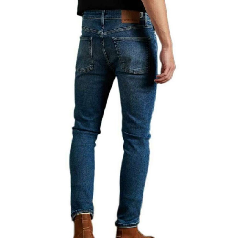 Jeans Skinny Bleu Homme Superdry pas cher