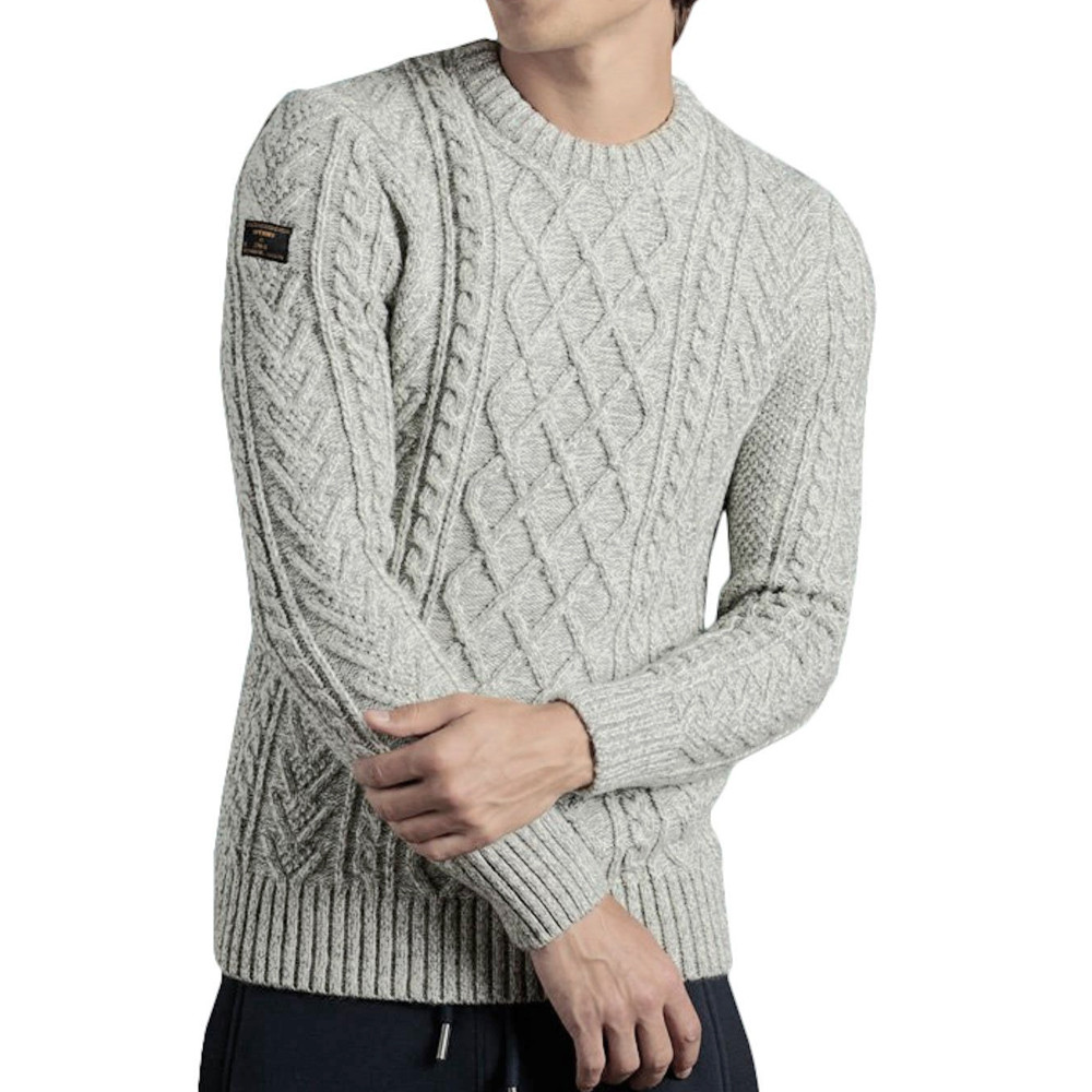 Pull Gris Homme Superdry Jacob
