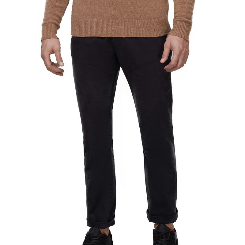 Chino Noir Homme Superdry Core Straight