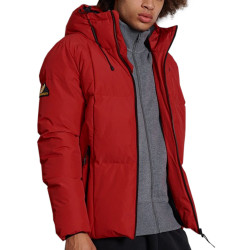 Doudoune Rouge Homme Superdry Evolution Puffer