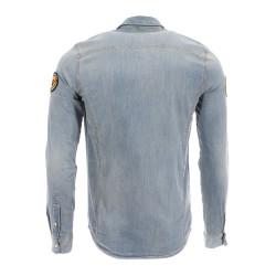 Chemise en jeans Bleue Homme Kaporal Kansa pas cher