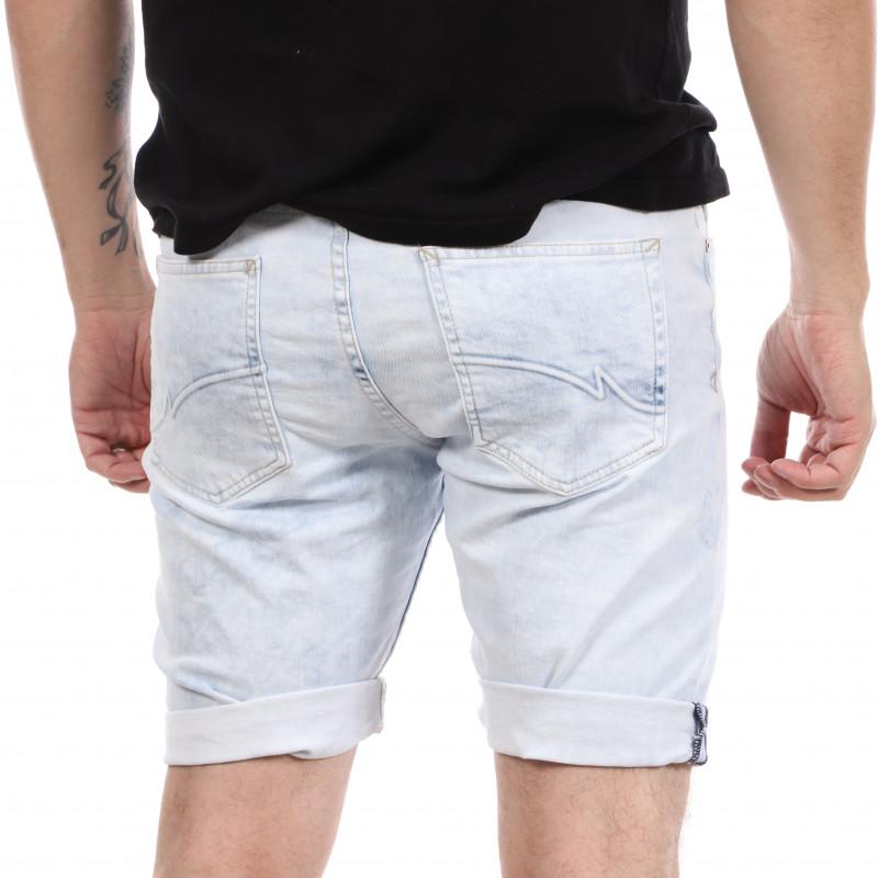 Short en jeans bleu clair homme Kaporal Vito pas cher