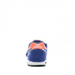 Baskets bleues enfant New Balance Closed Vamp Natural prix bas