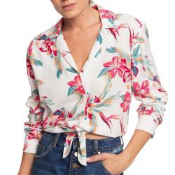 Chemise Blanche à fleurs Femme Roxy The Lover Side