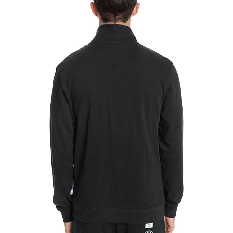 Sweat zippé Noir Homme Quiksilver Azusa pas cher