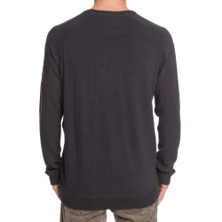 Pull Gris Homme Quiksilver Toolangislate pas cher