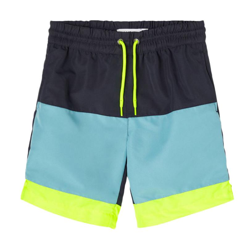 Short marine garçon Name It Long Shorts Camp