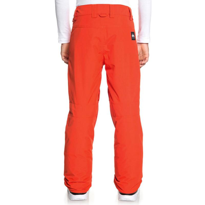 Pantalon de ski orange garçon Quiksilver Estate pas cher