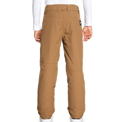 Pantalon de ski marron garçon Quiksilver Estate petit prix
