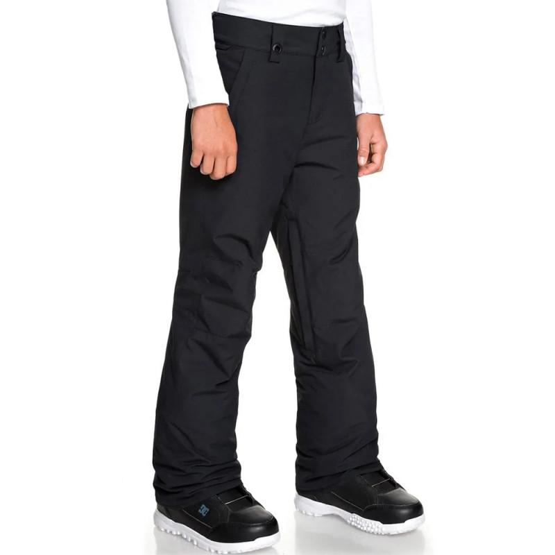 Pantalon de ski noir garçon Quiksilver Estate pas cher