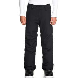 Pantalon de ski noir garçon Quiksilver Estate