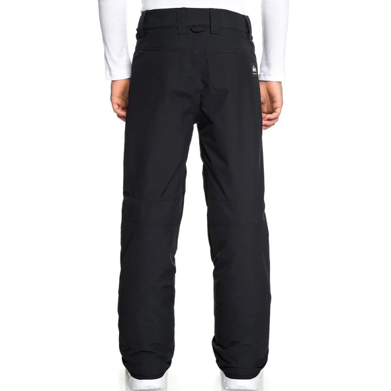 Pantalon de ski noir garçon Quiksilver Estate petit prix