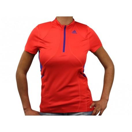 TR 1/2Z SS T - Tee shirt Running Femme Adidas