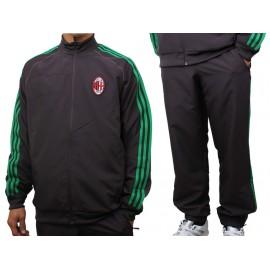 ACM EU PRE SUIT - Survêtement Ac Milan Football Homme Adidas