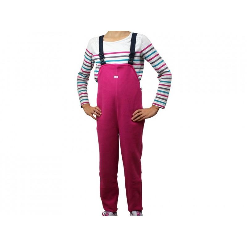 détaillant en ligne f54d3 623a2 K FLEECE BIB - Salopette Ski Fille Helly Hansen - Pantalons