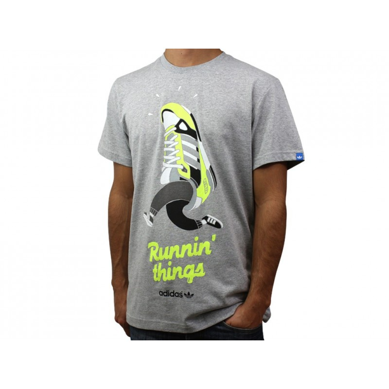 running things tee shirt homme adidas t shirts. Black Bedroom Furniture Sets. Home Design Ideas