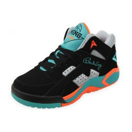 WRAP MID BLACK TEAL - Chaussures Basket Homme Patrick Ewing
