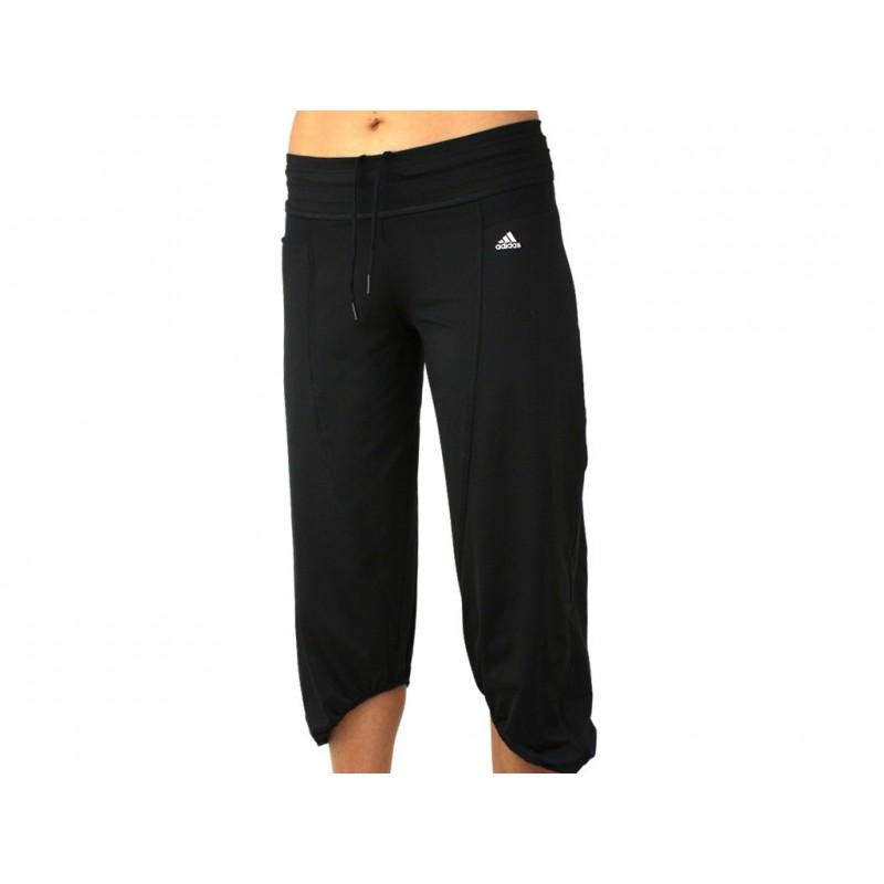 pantalon court femme adidas
