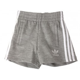 I 3 STRIPED JER - Short Bébé Fille Adidas