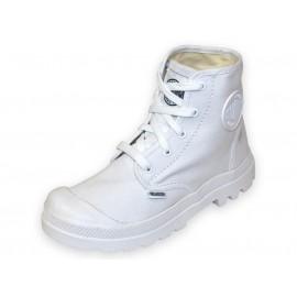 PAMPA HI LACE JR - Chaussures Garçon/Fille Palladium