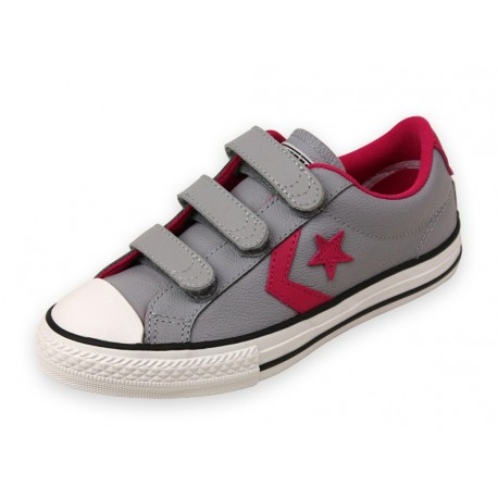 star player ev chaussures fille converse baskets. Black Bedroom Furniture Sets. Home Design Ideas