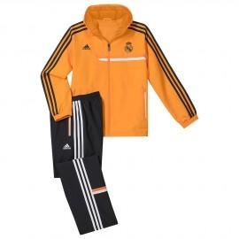 REAL PRE SUIT I - Survêtement Real Madrid Football Garçon Adidas