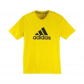 YB ESS L TEE - Tee shirt Garçon Adidas