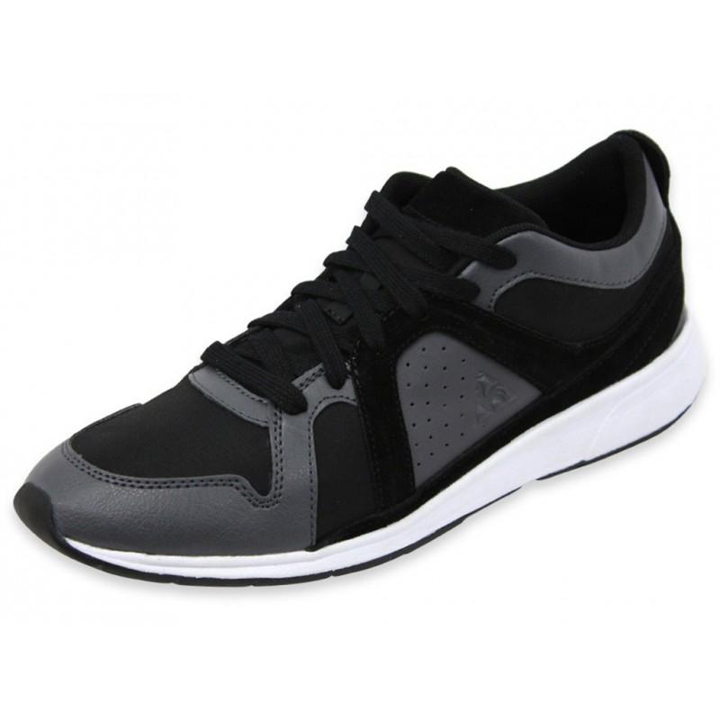 boissiere nylon black chaussures femme le coq sportif baskets. Black Bedroom Furniture Sets. Home Design Ideas