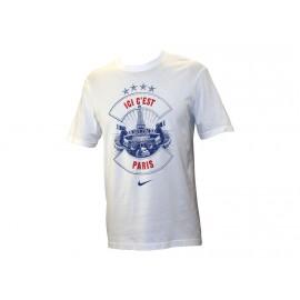 TEE NIKE CHAMPION - Tee shirt Paris PSG Homme Nike