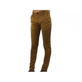 CHINO JR MOUTARDE - Pantalon Garçon CABANELI