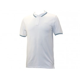 GURVAL MC DRESS WHITE - Polo Homme Lee Cooper