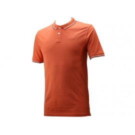 GURVAL MC DRESS CORAL - Polo Homme Lee Cooper