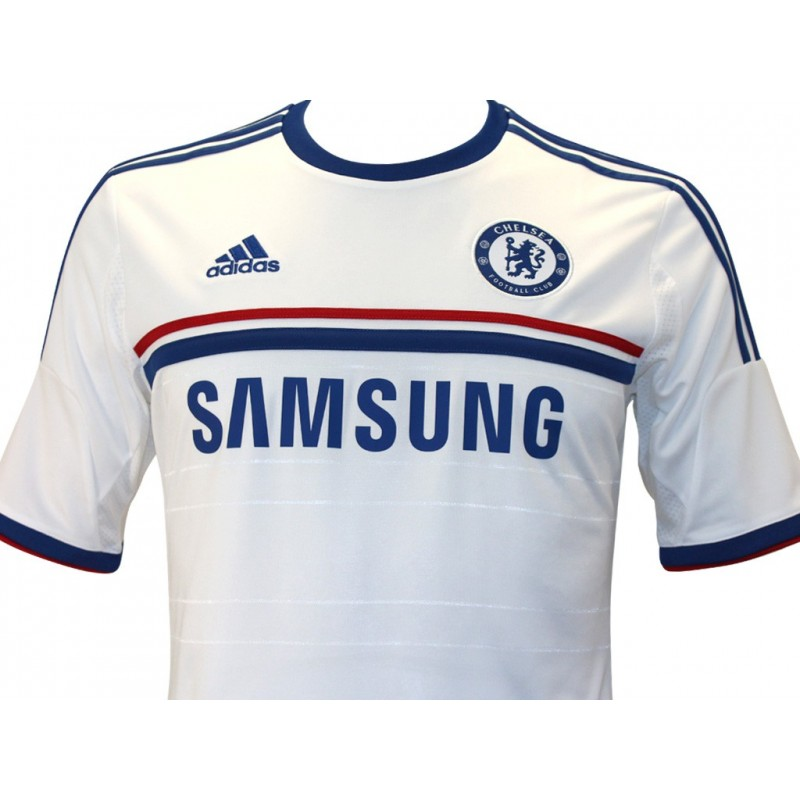 CFC A JSY BLC Maillot Chelsea Football Homme Adidas Maillots de