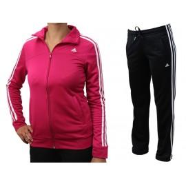 ESS 3S KNIT SUIT - Survêtement Femme Adidas
