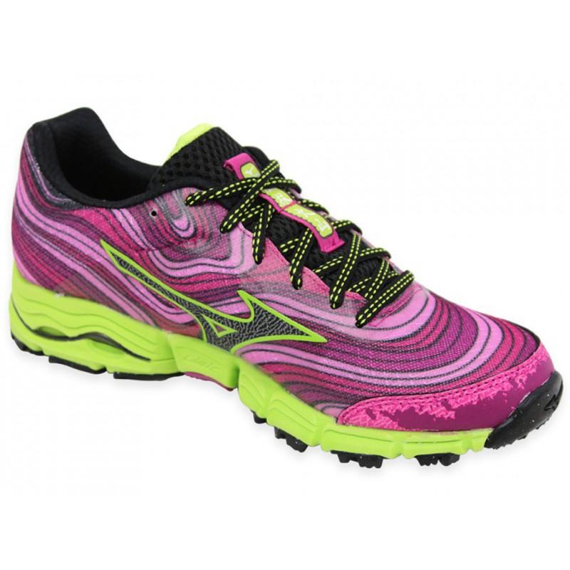 WAVE KAZAN W ROS - Chaussures Trail Femme Mizuno