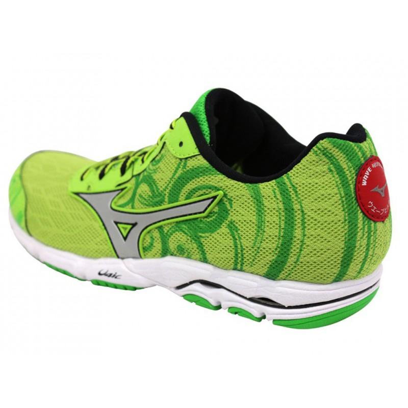 WAVE HITOGAMI 2 W GRE - Chaussures Running Femme Mizuno