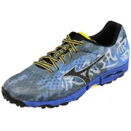 WAVE HAYATE M RBU - Chaussures Trail Homme Mizuno
