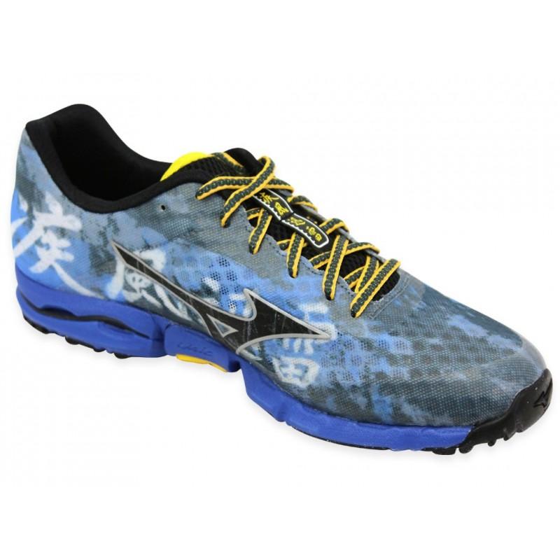 WAVE HAYATE M RBU - Chaussures Trail Homme Mizuno