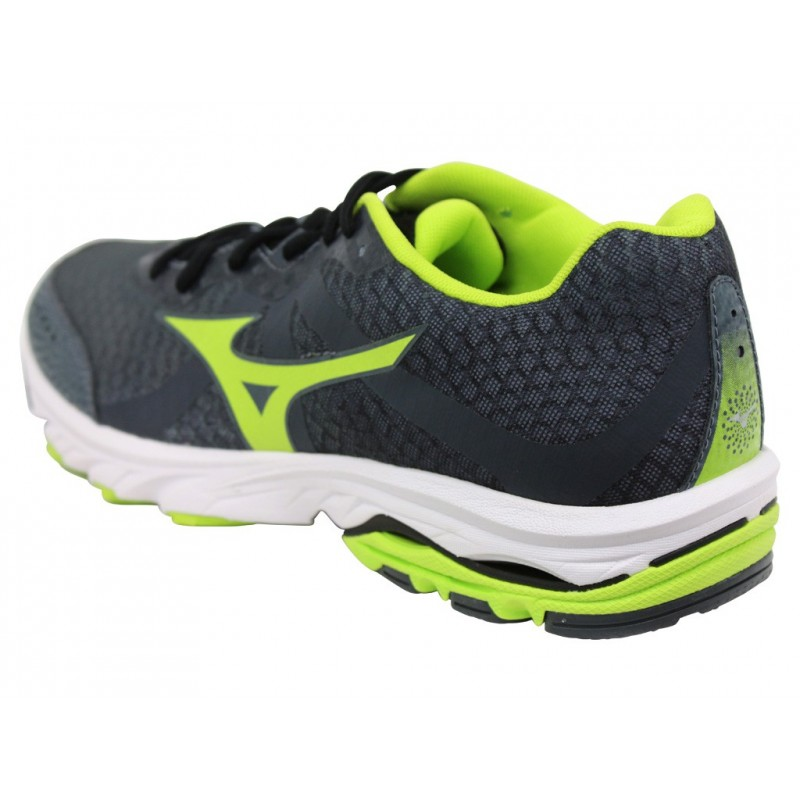 WAVE ELEVATION M GRY - Chaussures Running Homme Mizuno