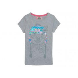 BEAR SEQUIN GCV - Tee shirt Fille Camps