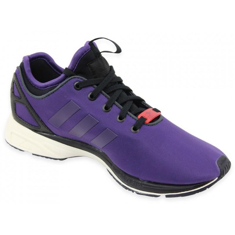 ZX FLUX TECH NPS VIO - Chaussures Femme Adidas